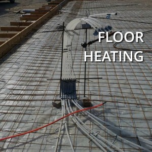 floor heating ecs geothermal